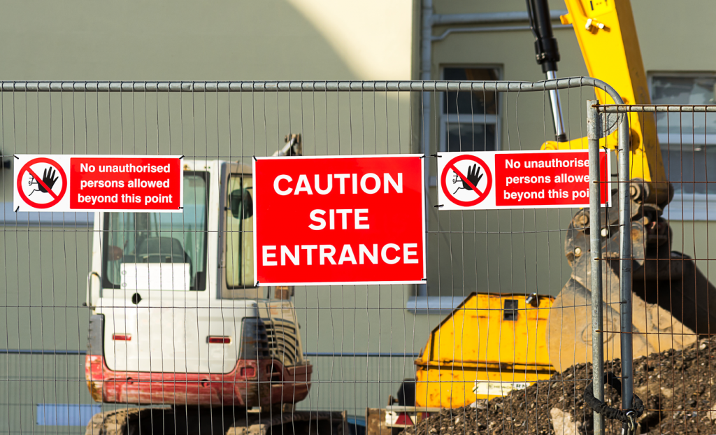 construction site security Northern Ireland